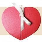 Boîte joli coeur rouge