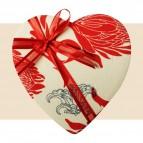 Boîte coeur rouge