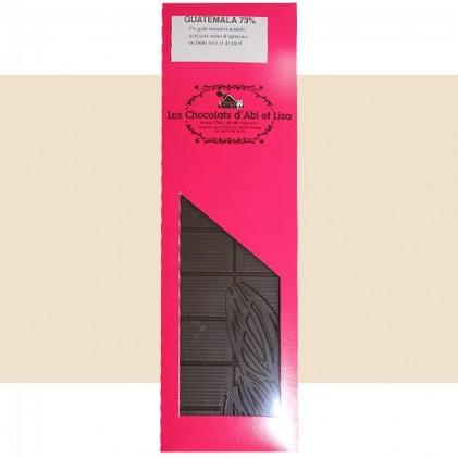 Tablette de chocolat Guatemala 73%