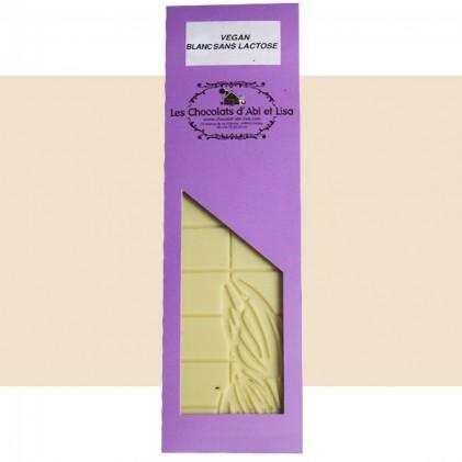 Tablette chocolat blanc vegan 38%