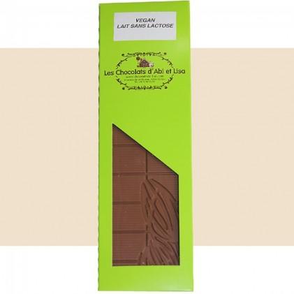 Tablette chocolat lait vegan 44%