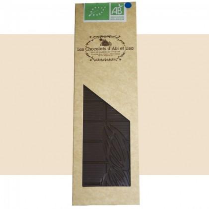 Tablette chocolat biologique 71,5%