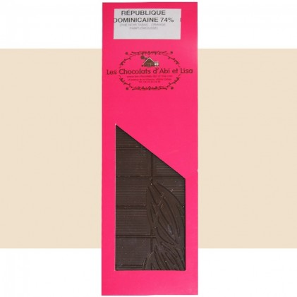 Tablette chocolat République Dominicaine 74%