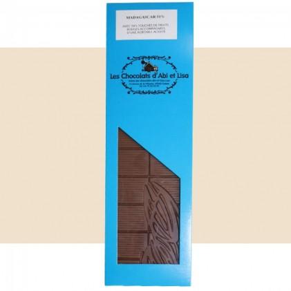 Tablette chocolat Madagascar 51%