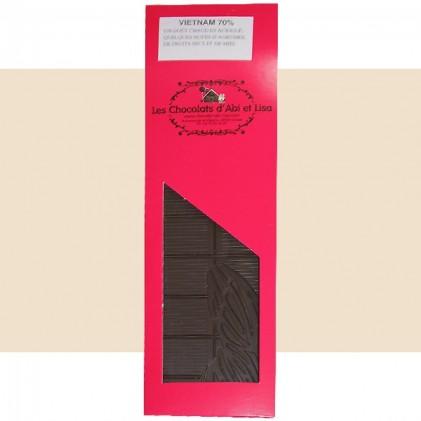Tablette chocolat Vietnam 70%