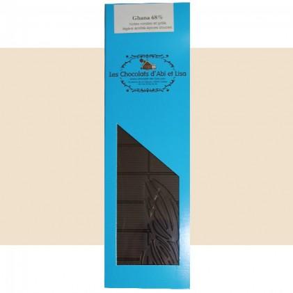 Tablette chocolat Ghana 68%