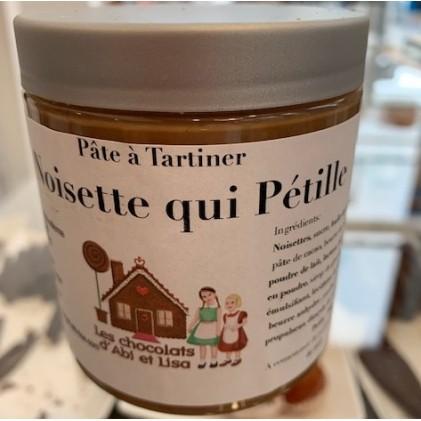 Pâte à Tartiner Noisette qui Pétille