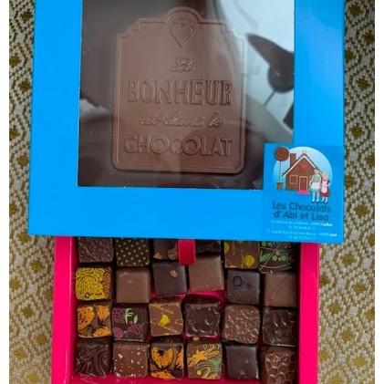 """Kit de Survie """" Le Bonheur est dans le Chocolat"""""""